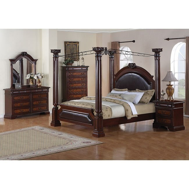 Bellevue Canopy Bedroom Set
