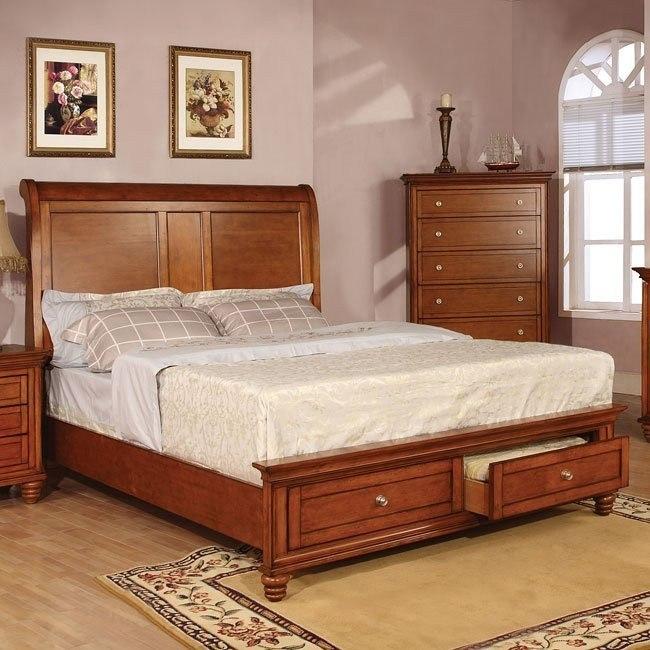Pendleton Storage Bed