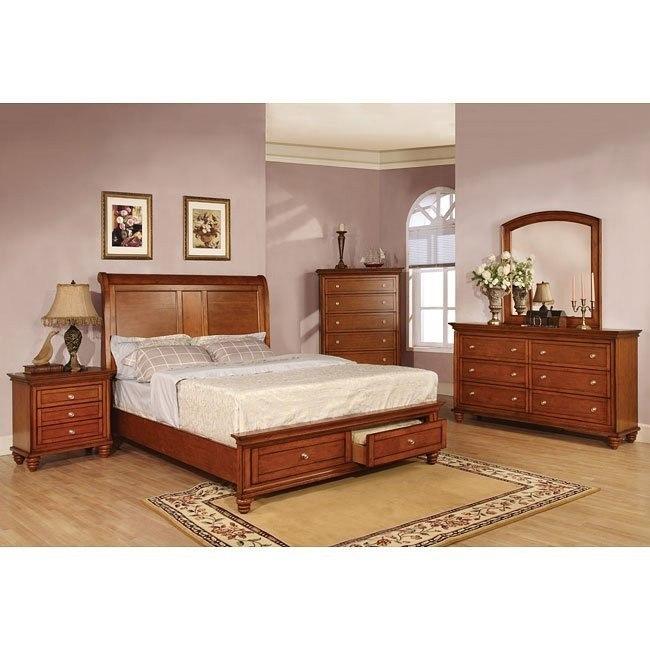 Pendleton Storage Bedroom Set