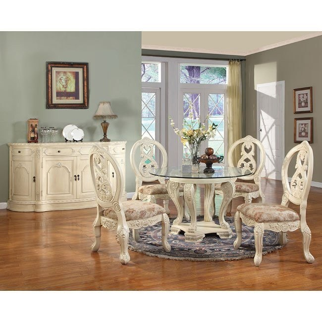 Heritage Round Dining Room Set
