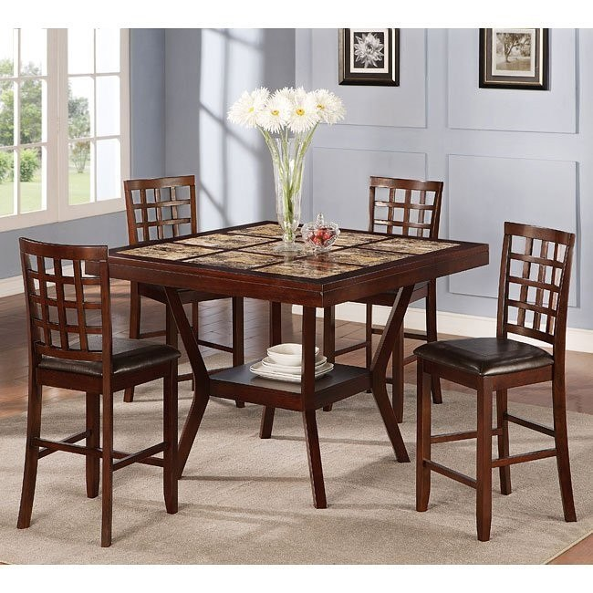 40136 Series Counter Height Dining Room Set