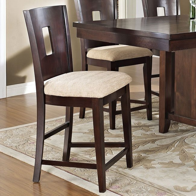 Lakewood Counter Height Chair (Espresso) (Set of 2)
