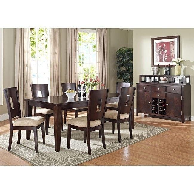 Lakewood Dining Room Set (Espresso)