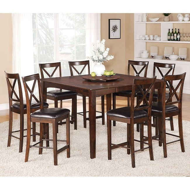 40460 Series Counter Height Dining Room Set