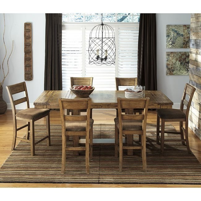 Krinden Counter Height Dining Room Set Signature Design by Ashley ...