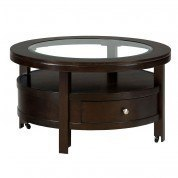 Marlon Wenge Round Cocktail Table