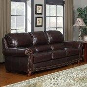 James Leather Sofa
