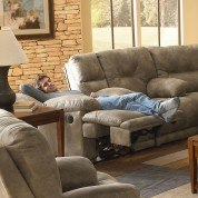 Voyager Lay Flat Reclining Loveseat w/ Power