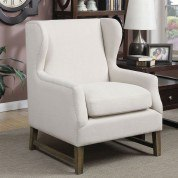Accent Chair w/ Wing Back Design