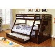 Ellington Twin/ Full Bunk Bed w/ Trundle
