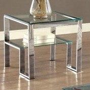Nikita End Table (Chrome)
