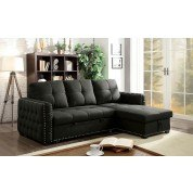 Demi Sectional w/ Pull Out Sleeper