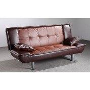 G137 Sofa Bed (Dark Brown and Brown)