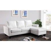 G217 Sofa Chaise (White)
