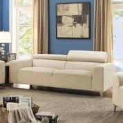 G334 Sofa w/ Adjustable Headrests (Beige)