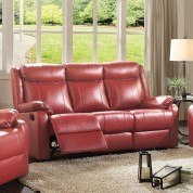 G765 Double Reclining Sofa (Red)