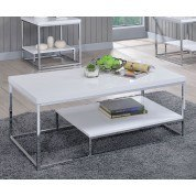 Lucia Cocktail Table (White)