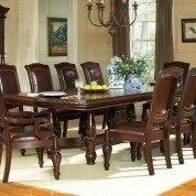 Antoinette Double Pedestal Table