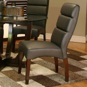Adele Side Chair (Charcoal) (Set of 2)
