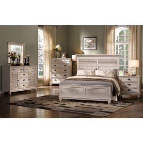Lakeport Panel Bedroom Set Pewter By New Classic