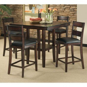 Pendelton 5 Piece Counter Height Dining Room Set