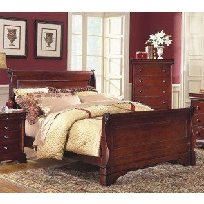 Alexandra Sleigh Bed By Oasis Home Furniturepick