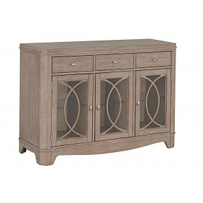 Mestler Server Honey Pine By Signature Design By Ashley