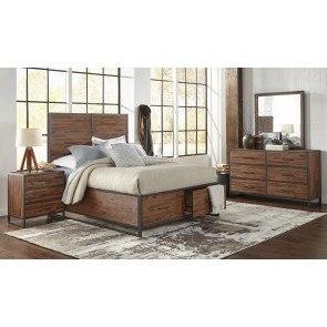 Bittersweet Metal Sleigh Bedroom Set By Signature Design