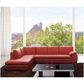 Masoli Mocha Sectional W Left Facing Chaise By