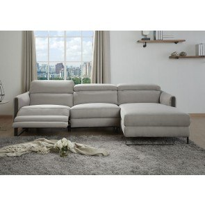 Pantomine Driftwood Modular Sectional W Chaise By