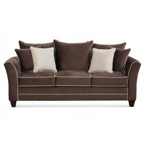 Graydon Park Dark Saddle Sofa By Benchcraft Furniturepick