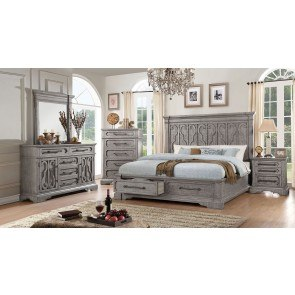 South Coast Poster Canopy Bedroom Set Signature Design By