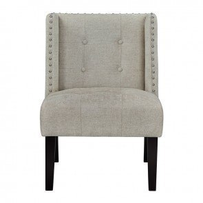 Yvette Steel Accent Chair Signature Design By Ashley
