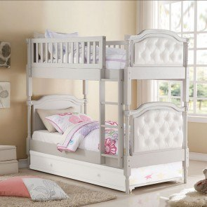 Sweetheart Twin Over Twin Bunk Bed Samuel Lawrence