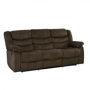 Exhilaration Chocolate 2 Seat Reclining Sofa By