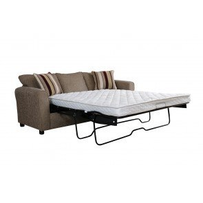 Aldie Nuvella White Queen Sofa Chaise Sleeper by ...