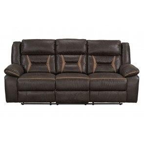 Hogan Mocha 2 Seat Reclining Sofa By Signature Design By