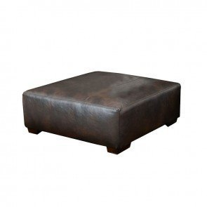 Lawson 40 Inch Cocktail Ottoman Chestnut By Jackson