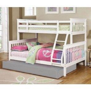 Jacob Twin Twin Bunk Bed Coaster Furniture Furniturepick