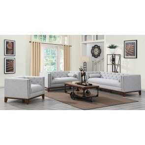 Zadee Chocolate Living Room Set By Signature Design By