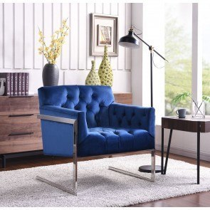 Addison Blue Accent Chair By Signature Design By Ashley