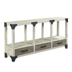 Glass Inlay Top Console Table By Coaster Furniture