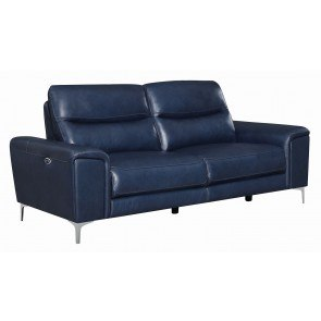 Ledger Durablend Scarlett Reclining Sofa By Signature