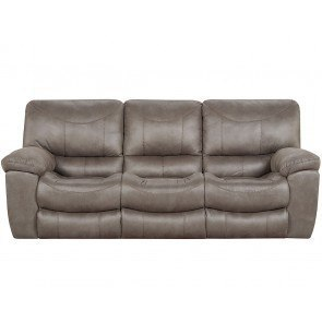Palladum Metal Power Reclining Sofa By Signature Design By