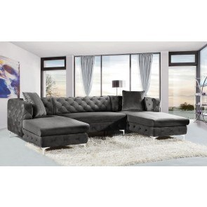 Sorenton Slate Left Facing Chaise Sectional By Benchcraft