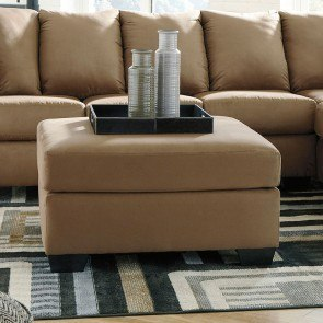 Darcy Mocha Sectional Living Room Set Signature Design