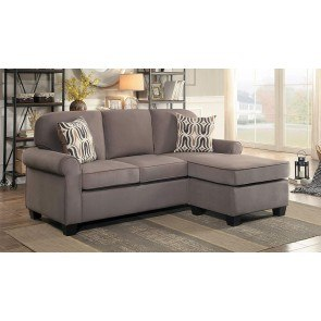 Loric Smoke Sectional W Left Chaise By Signature Design