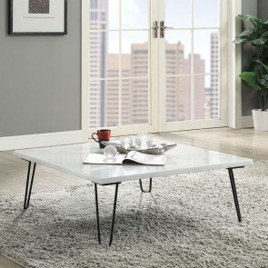 Mission Style Distressed Coffee Table Coaster Furniture