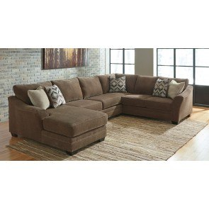 Delta City Rust Sectional By Benchcraft 1 Review S
