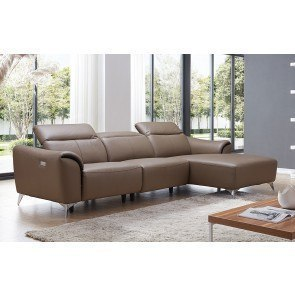 Alliston Durablend Salsa Sectional W Right Chaise By